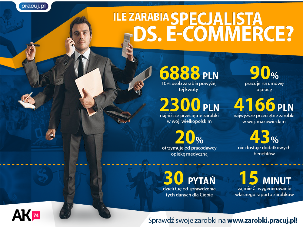 Specialista ds. E-commerce vol.2
