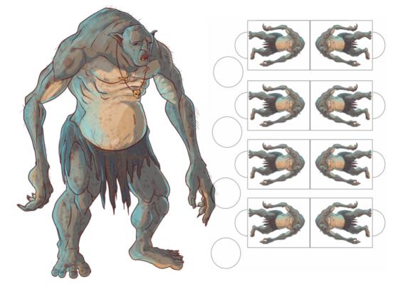 Printable RPG is creating hand-drawn RPG Maps   Patreon